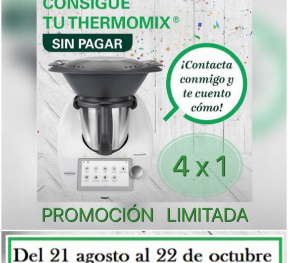 CONSIGUE TU Thermomix® TM6 SIN PAGAR!!!