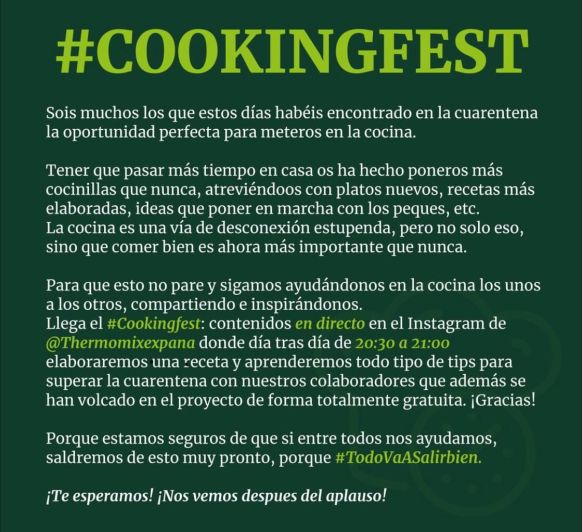 #COOKINGFEST Thermomix®