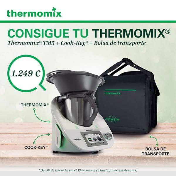 Tm5 + cook-key + bolsa de transporte