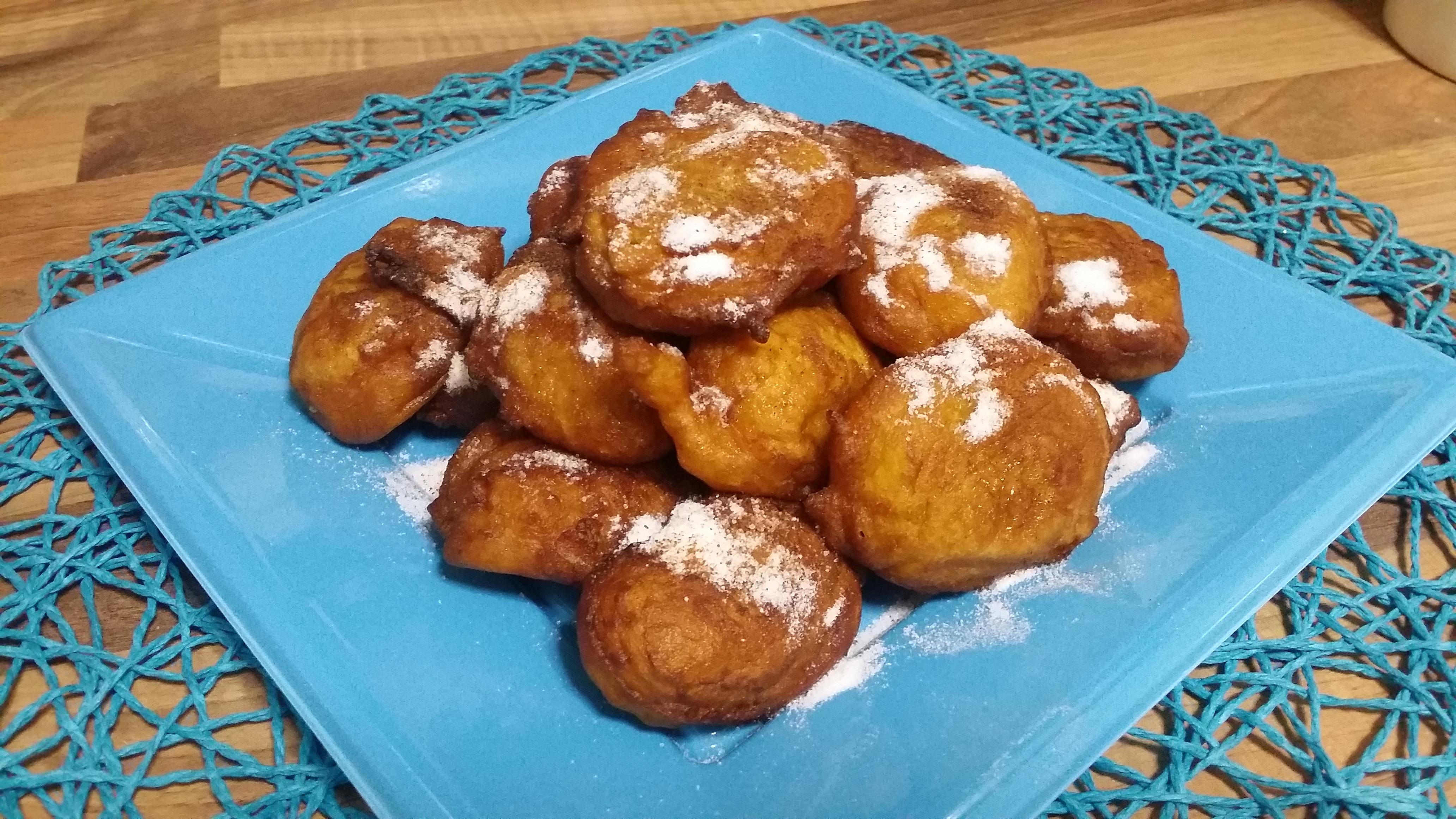 Fritos de calabaza