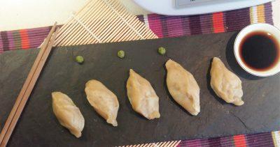 Dumplings de repollo y carne de cerdo