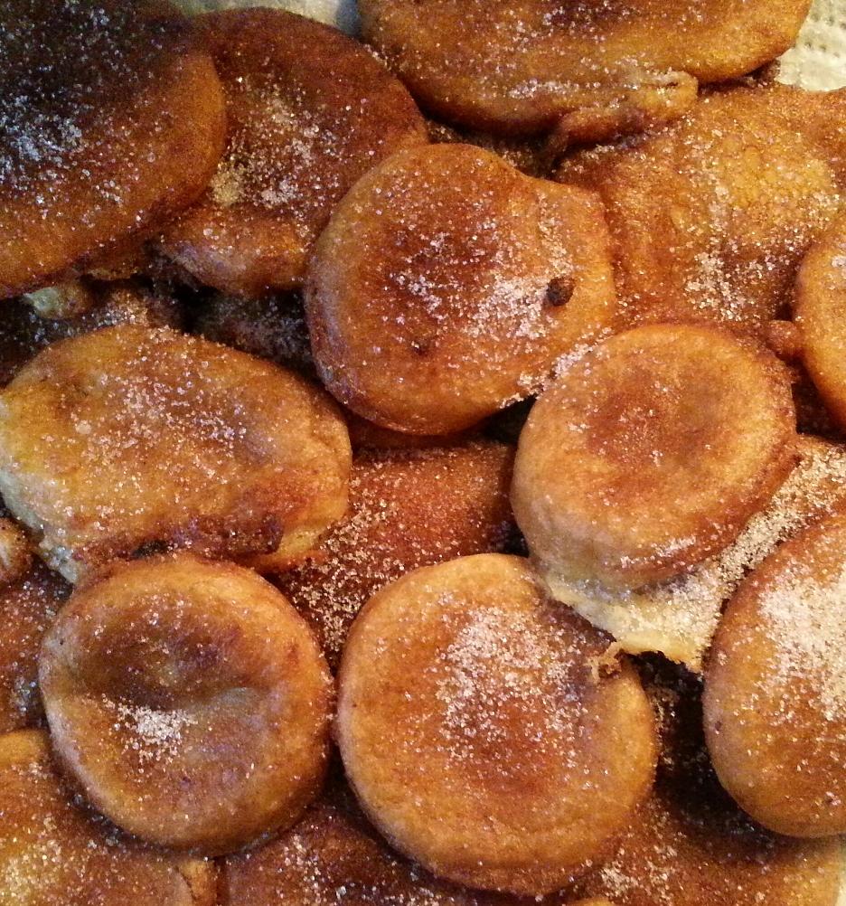 Buñuelos de Dulce de Manzana