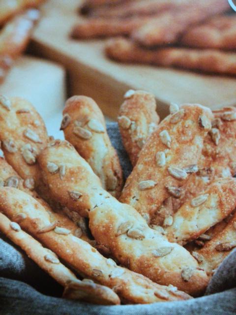 Barritas de pan de pipas