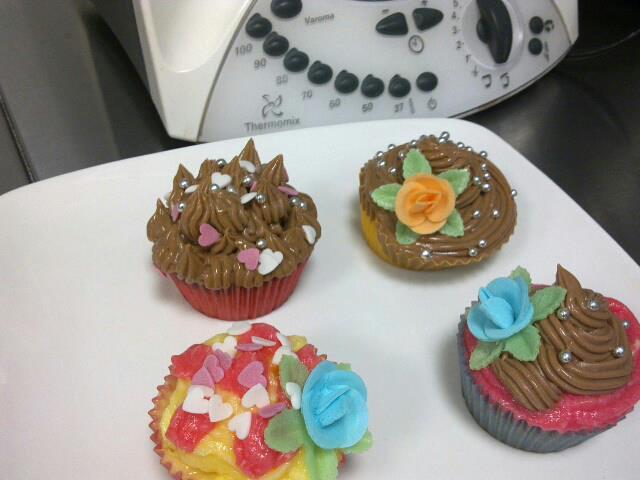 Cremas de Decoración Cup Cakes o Tartas