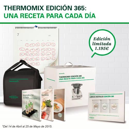 Thermomix® Edicición 365, una receta para cada día!