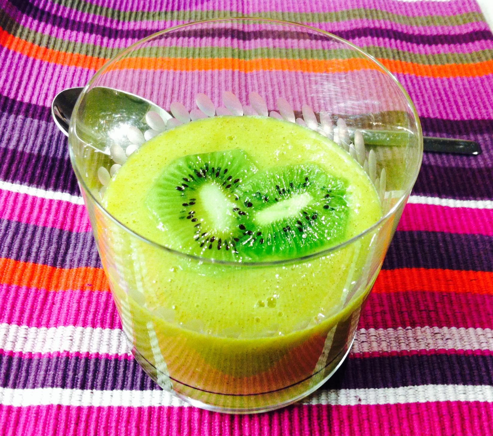 Smoothie de kiwi y jengibre