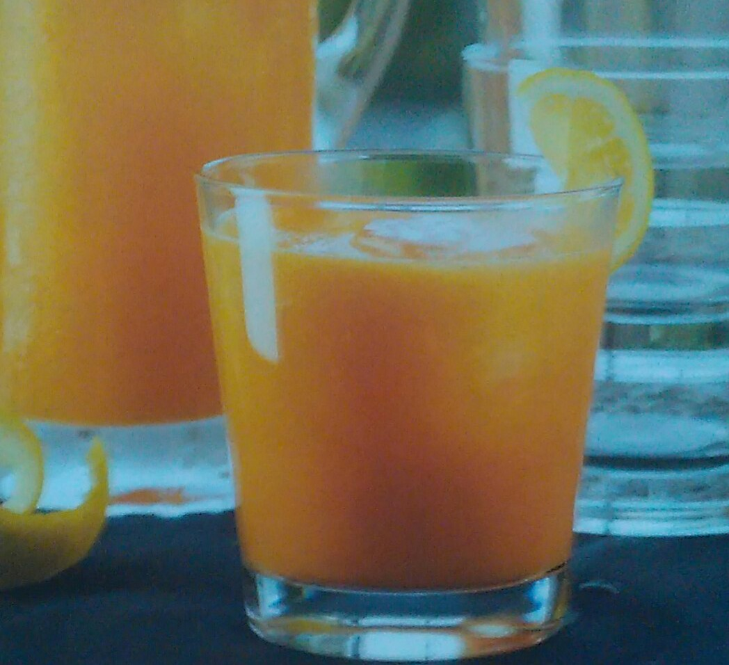 zumo de zanahoria, pepino y limón