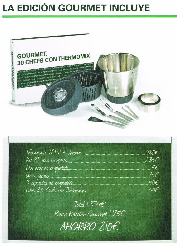 Promoción Thermomix® Gourmet_1.125 €