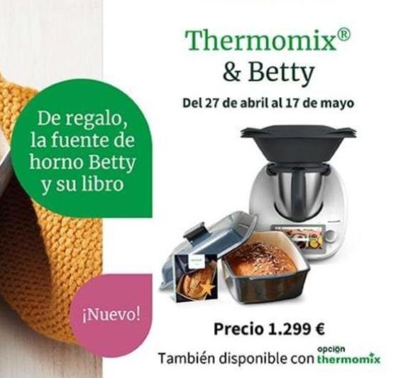 NUEVA PROMOCIÓN , THERMOMOX TM6 Y DE REGALO NUESTRA FUENTE PREFERIDA BETTY