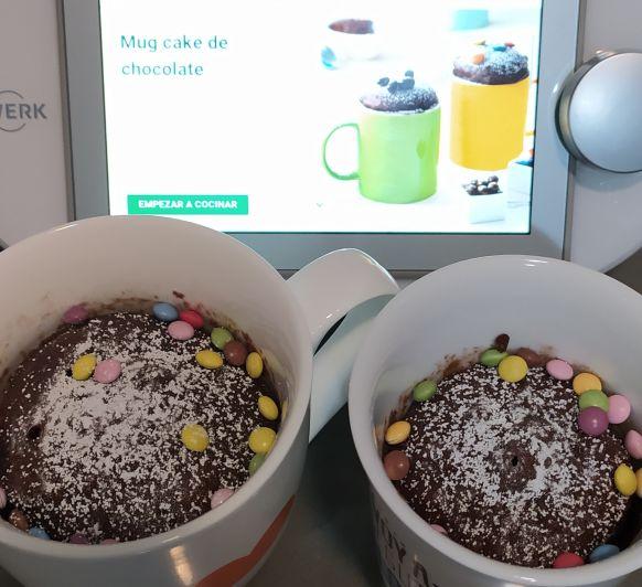 COMO PREPARAR MUG CAKE DE CHOCOLATE CON Thermomix®