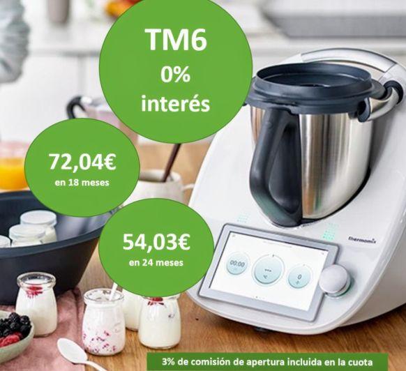 TM6 FINANCIADO AL 0% DE INTERÉS. !!REGALA EN EL DÍA DE LA MADRE!!