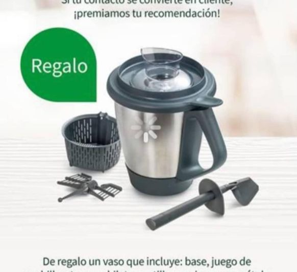Regalo Thermomix® 2 vaso TM5