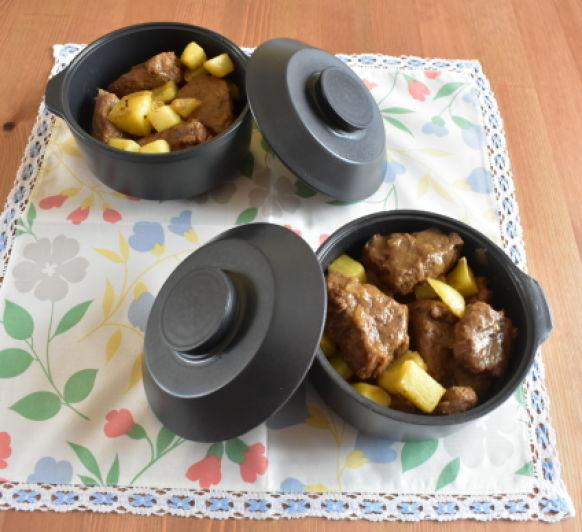 Carne gobernada( cocción lenta)