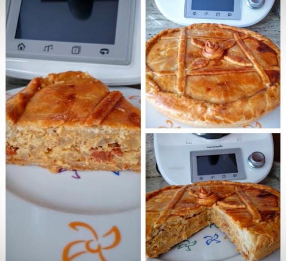 Empanada de tortilla (en casa la llamamos Empatilla )