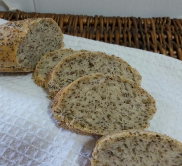 Pan con semillas de Chía