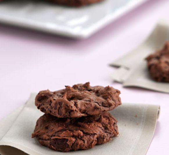 Cookies brownie de chocolate