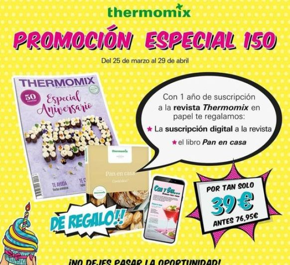 Promo! Revista Thermomix® !