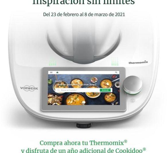 Thermomix® y Cookidoo. Inspiración sin límites.