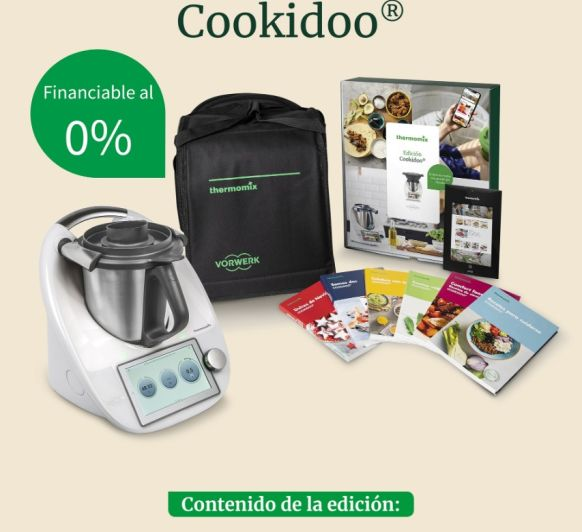 Edicion cookidoo con campaña SIN INTERESES