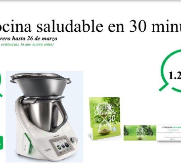 NUEVA EDICIÓN COCINA SALUDABLE EN 30 MINUTOS Y SIN INTERESES