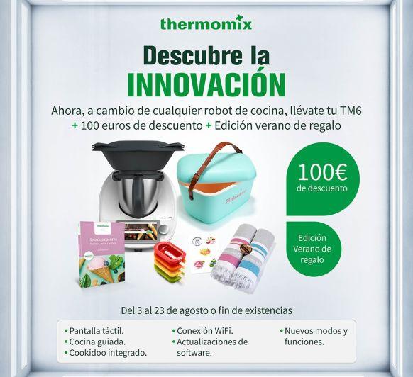 Thermomix® TM6 CON DESCUENTO DE 100 €