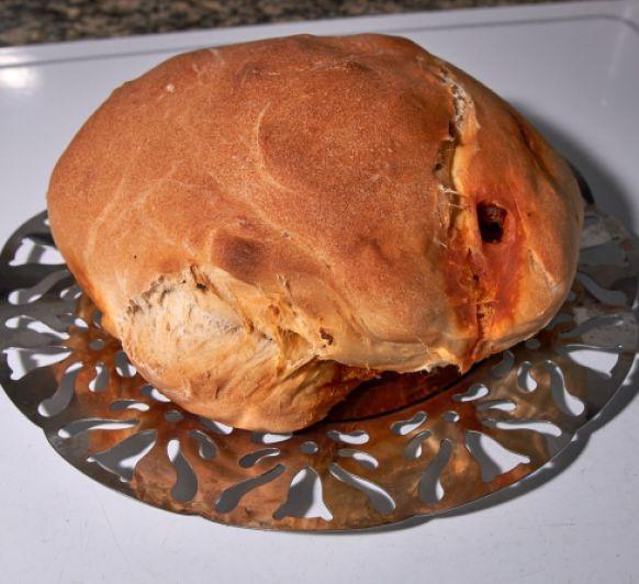 como hacer pan de sidra preñado