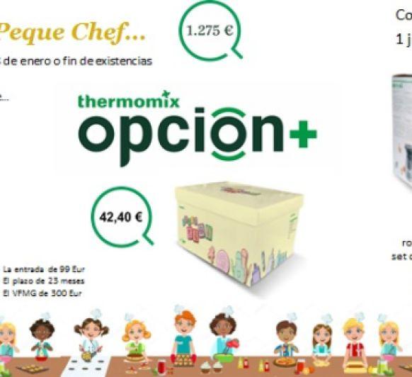 Edicion Peque Chef... el mejor regalo de Reyes.