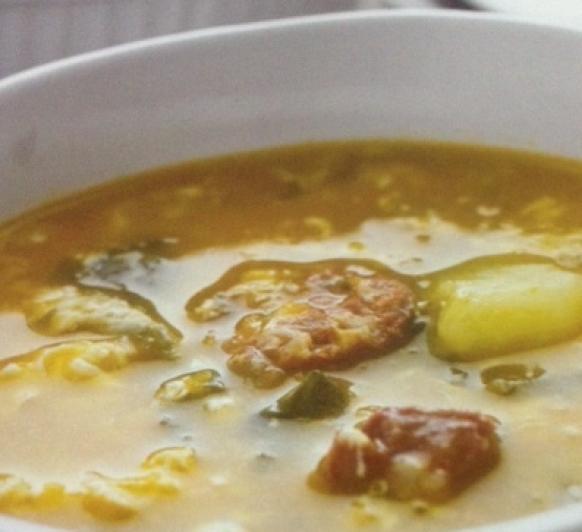 Sopa a la Riojana