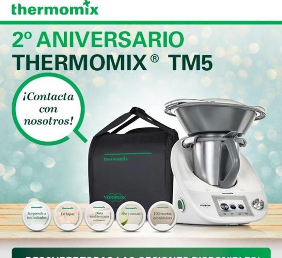 2º ANIVERSARIO Thermomix® TM5