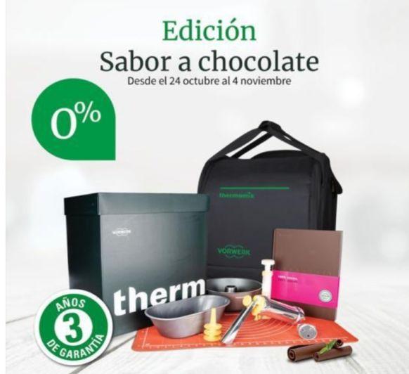Thermomix® TM6 EDICIÓN CHOCOLATE. SIN INTERESES 0%