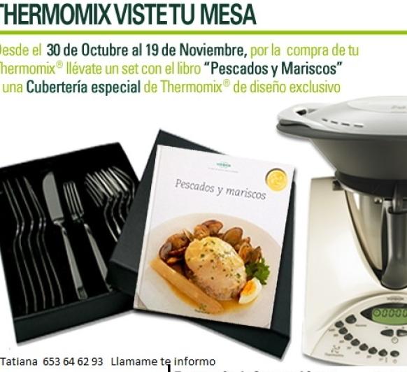 Thermomix® VISTE TU MESA (nueva promocion)