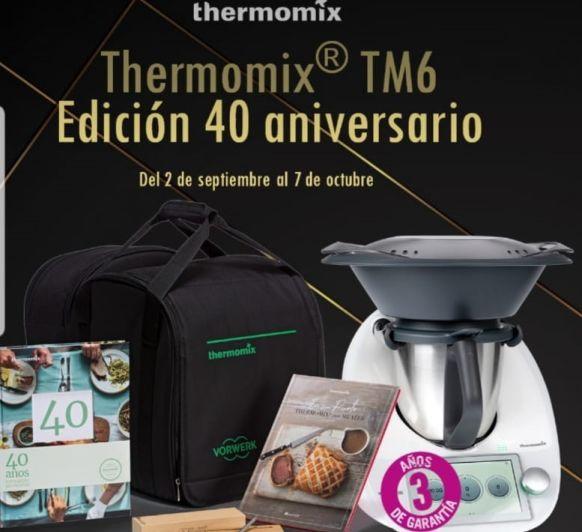 Thermomix® CON 3 AÑOS DE GARANTÍA: PROMOCIÓN 40 ANIVERSARIO