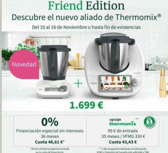 Thermomix® TM6 EDICIÓN FRIEND
