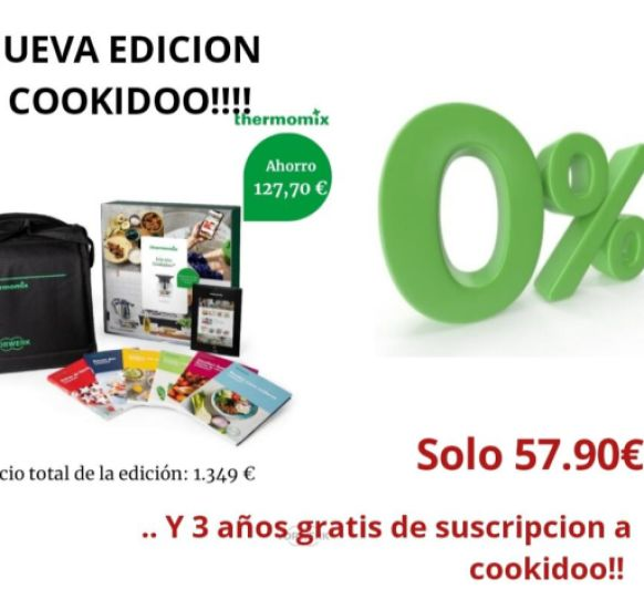 Thermomix® TM6 ¡SIN INTERESES! EDICIÓN COOKIDOO.