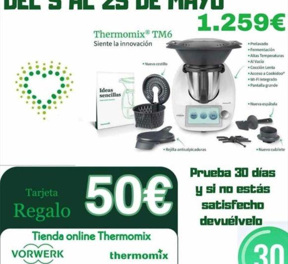 Thermomix® TM6 CHEQUE REGALO