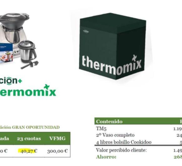 NUEVA EDICIÓN GRAN OPORTUNIDAD DE Thermomix®