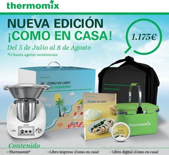 Nueva Edición ¡Como en Casa! con Thermomix®