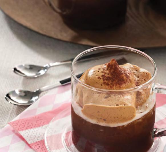 GRANIZADO DE CAFE CAPUCINO