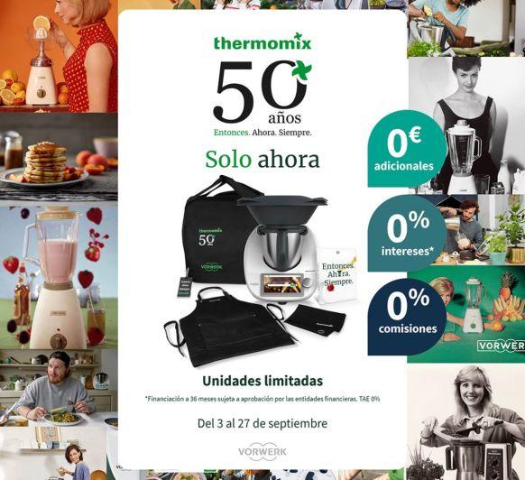 Thermomix® AL 0%, SIN GASTOS DE APERTURA Y REGALO MUY CHULI!!!