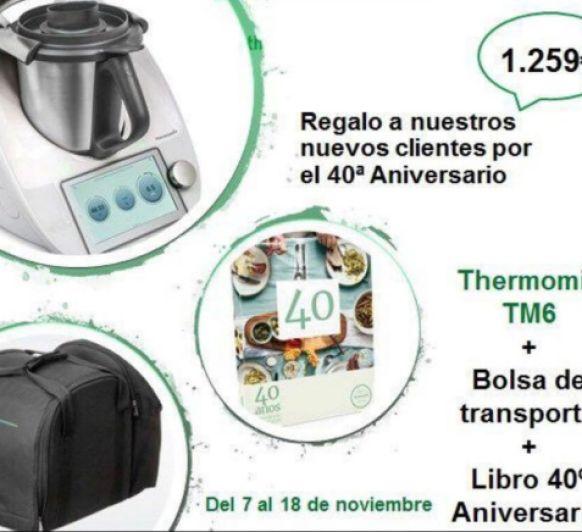 Thermomix® TM6 + REGALOS POR 40 ANIVERSARIO