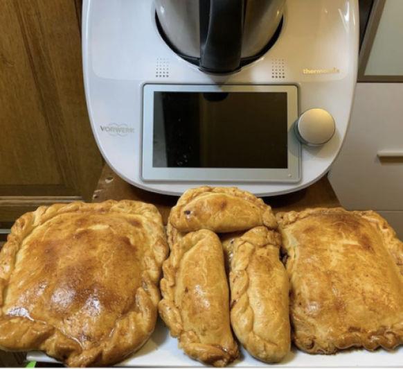 Empanadas y empanadillas de compota de manzana