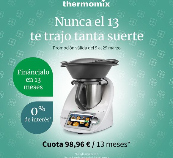 TU Thermomix® TM 6 SIN INTERESES