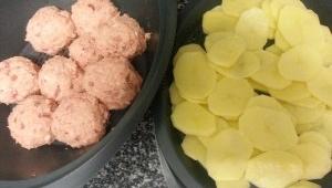 Albóndigas de Bonito en crema de Pimientos