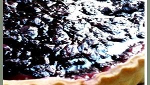 Tarta de Queso y Cerezas