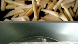 MENU- Minestrone y Pollo Relleno de cecina y cabra con Compota de Manzana